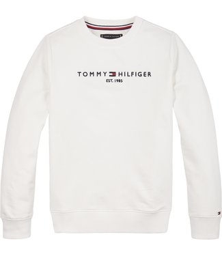 Tommy Hilfiger ESSENTIAL CN SWEATER WHITE