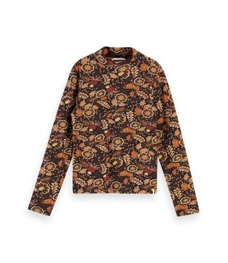 Scotch & Soda All-over printed long sleeve tee combo A