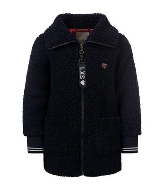 LOOXS LITTLE Little teddy jacket navy