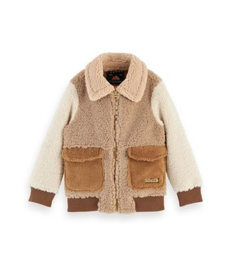 Scotch & Soda Teddy bomber jacket combo A