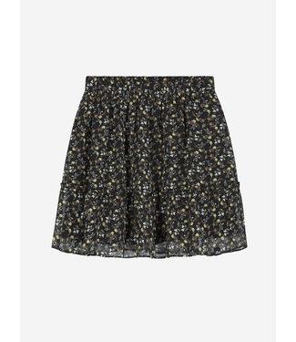 Nik & Nik Vaya Flower Skirt Black
