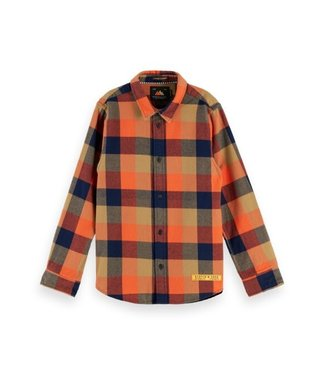 Scotch & Soda Yarn dyed check shirt combo E