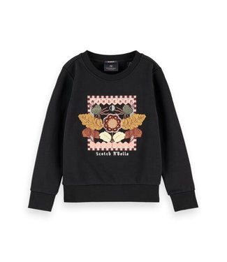 Scotch & Soda Crewneck sweat black