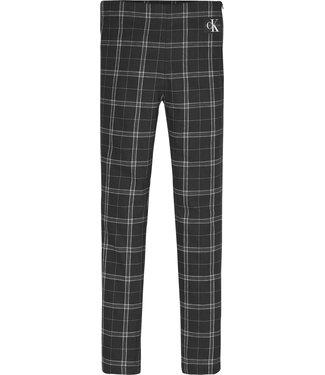 Calvin Klein CHECK PANT BLACK