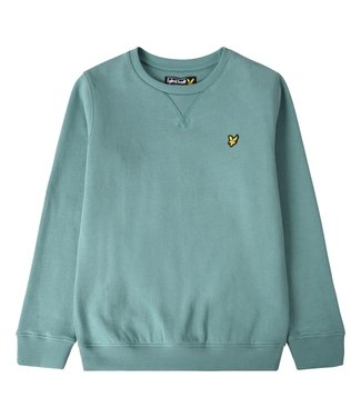 Lyle & Scott CREWNECK FLEECE Oilblue