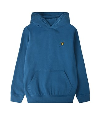 Lyle & Scott OTH HOODY FLEECE Inkblue