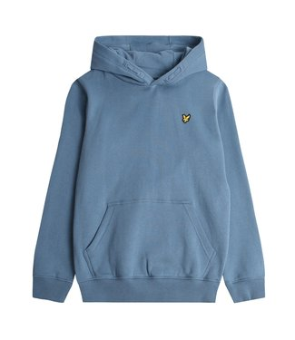 Lyle & Scott HOODY FLEECE bluestone