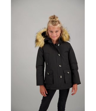 Airforce GIRLS 4 POCKET PARKA RF Black