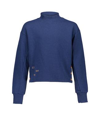 Frankie & Liberty Pixxie Sweater steel blue