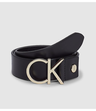 Calvin Klein Girls riem CK black/gold