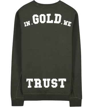 In Gold We Trust KIDS THE REAKWON cn sweater Duffel Bag