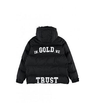 In Gold We Trust KIDS THE INFAMOUS jacket Black