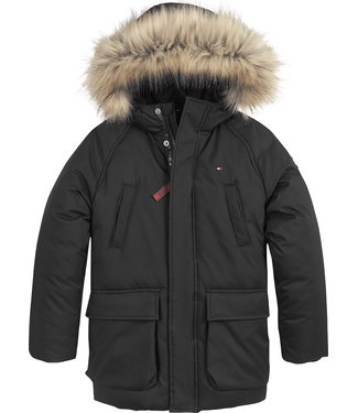 Tommy Hilfiger TECHNICAL PARKA BLACK