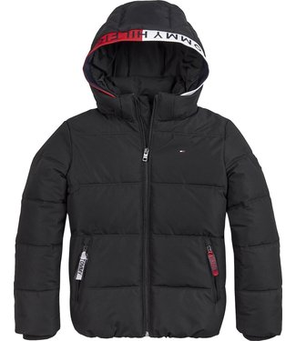 Tommy Hilfiger ESSENTIAL PADDED JACKET BLACK