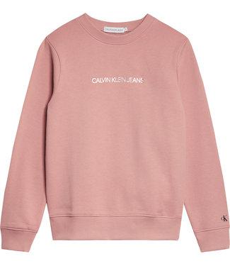Calvin Klein METALLIC CHEST LOGO Soothing Pink