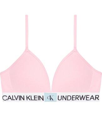 Calvin Klein MOLDED BRA PINK  MIST