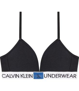 Calvin Klein MOLDED BRA BLACK