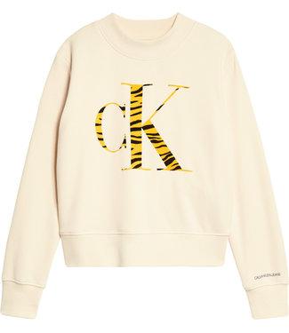 Calvin Klein URBAN ANIMAL CK FLOCK Whitecap Gray