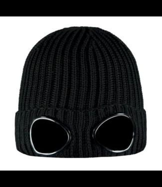 CP Company 09CKAC035A005509A knit cap black