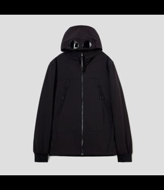 CP Company softshell jacket black 09CKOW001C005784A