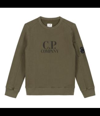 CP Company crewneck ivy green 09CKSS018C003878W