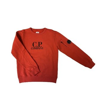 CP Company crewneck barbados cherry 09CKSS018C003878W