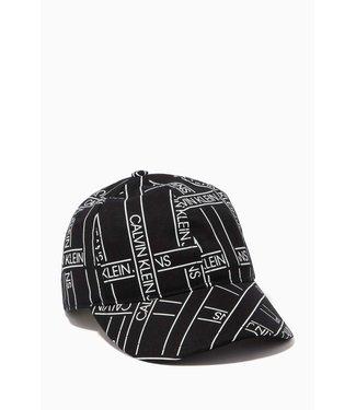 Calvin Klein MONOGRAM TAPE BASEBALL BLACK