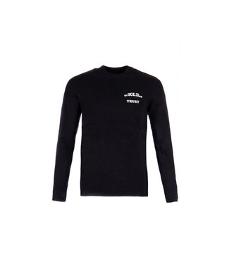 In Gold We Trust THE WILEY KIDS cn sweater Black