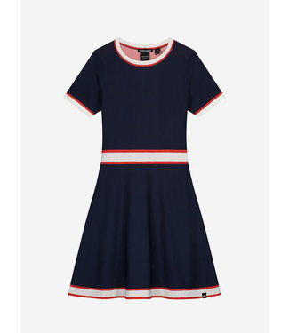 Nik & Nik Ann Jintha Dress Royal Blue