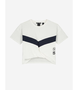 Nik & Nik Ada Sport T-Shirt Off White