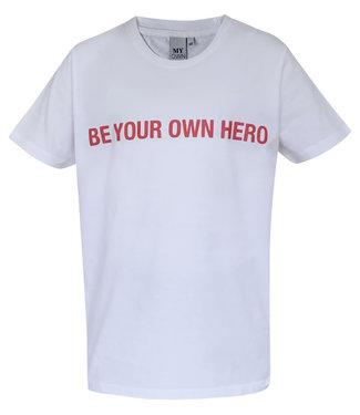 MyOwn Girls Britt T-shirt hero white