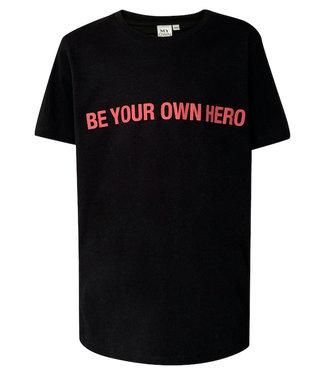MyOwn Girls Britt T-shirt hero black