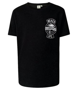MyOwn Girls May T-shirt beach life black