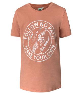 MyOwn Girls Lyn T-shirt own path rose clay