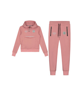 Black Bananas Jr. Girls Anorak Tracksuit pink
