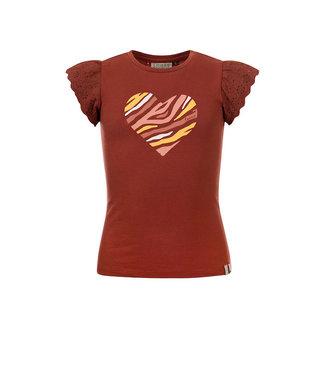 LOOXS LITTLE Little t-shirt ss pecan