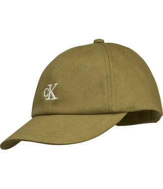 Calvin Klein BASEBALL CAP OLIVE