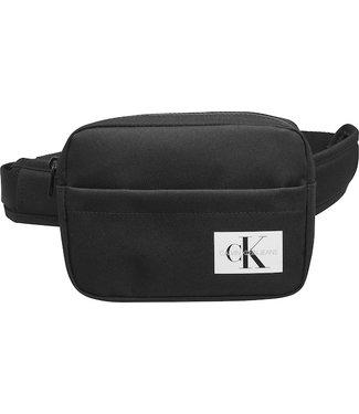 Calvin Klein BADGE WAISTBAG BLACK