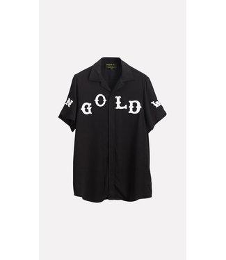 In Gold We Trust Western Blouse black