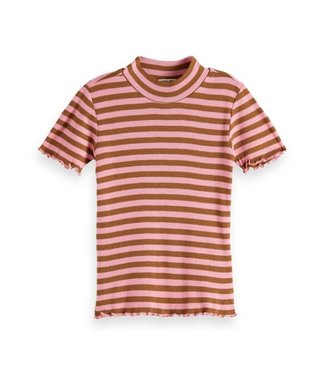 Scotch & Soda Fitted ss yarn dyed stripe combo R
