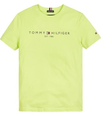 Tommy Hilfiger ESSENTIAL LOGO TEE LIME