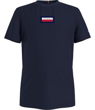 Tommy Hilfiger GRAPHIC TEE NAVY