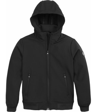 Calvin Klein SOFT SHELL JACKET BLACK