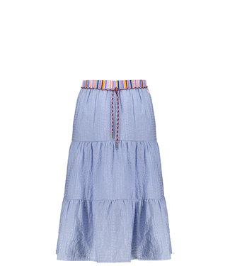 NONO Nael maxi skirt bright sky