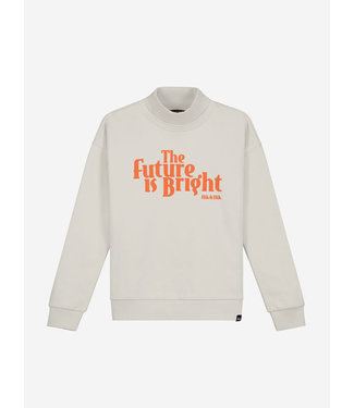 Nik & Nik Future Sweater Vintage White