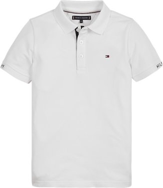 Tommy Hilfiger SLIM FIT POLO WHITE