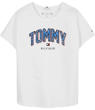 Tommy Hilfiger SATIN PRINT TEE W/B