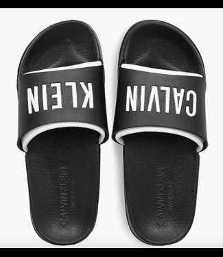 Calvin Klein SLIDES BLACK