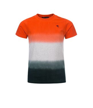 Common Heroes TIM Dip dye T-shirt IVORY MELEE