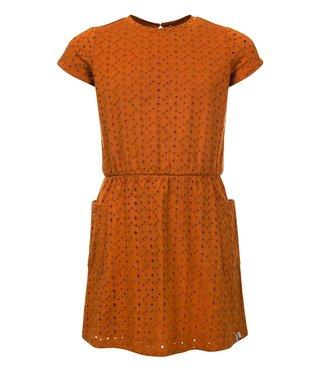LOOXS LITTLE Little dress ochre